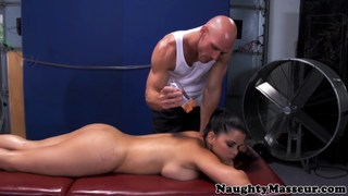 Busty sporty Diamond Kitty pounded in butthole Thumbnail