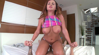Keisha Grey bounces that nice juicy ass up and down on his prick Thumbnail