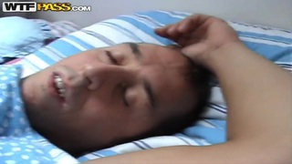 Blonde babe Katerina Sz. enjoys in amateur sex with her guy Thumbnail