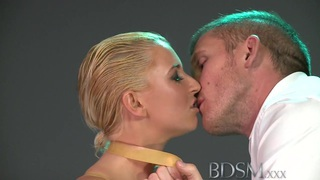 BDSM XXX Big breasted sub filled by dominant Master Thumbnail