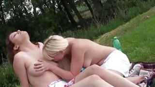 Hot lezzies going on a picnic Thumbnail