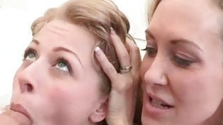 Stepmom Brandi Love and Zoey Monroe hot threeway Thumbnail
