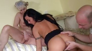 OldNanny Old lady with pretty girl masturbating Thumbnail