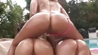 Big oiled asses fucked in group sex action Thumbnail