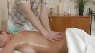 Very cute young blonde cums hard during massage Thumbnail
