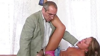 Old teacher is pleasant pleasant babes twat Thumbnail