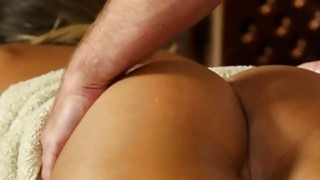 Very tricky spa of beautiful masseur Thumbnail
