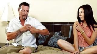 Slutty babe Jenna Reid gives massage and fucked hard Thumbnail