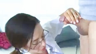 Sexy And Busty Doctor Relieves His Load Thumbnail