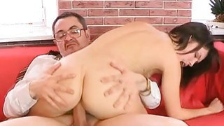 Old teacher is pleasing babes bawdy cleft Thumbnail
