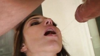 Male cums on hotty after having nice sex Thumbnail