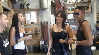 Random babes flash titties and hot ass for some money Thumbnail