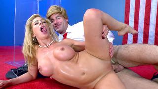 Blonde mom Cherie DeVille enjoys the most enjoyably thorough dicking Thumbnail