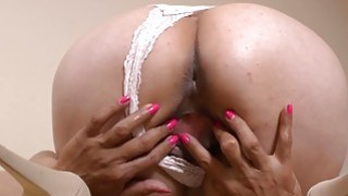 LatinChili mature Lucia playing with herself