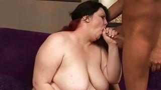 Bbw floozy fucked in all of her holes by schlong Thumbnail