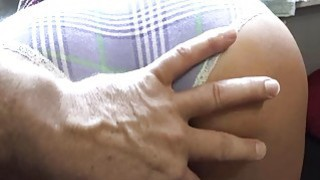 Horny Averi Brooks loves dads cock in her pussy Thumbnail