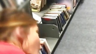 College Slut Ema Fucked In Library Pov Doggy Style Thumbnail