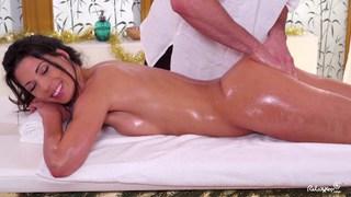 Oil massage and sensual sex with Alexa Tomas Thumbnail
