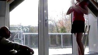 Nasty blonde teen fucked hard by the horny granpda Thumbnail