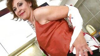EuropeMaturE Dana Seductive Coffee Time Showoff