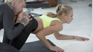Going balls deep right there on the gym floor Thumbnail