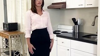 A very sexy real estate agent keeps her job with her sweet wet pussy Thumbnail