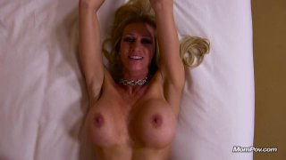 Lusty MILF takes it in the ass from behind POV Thumbnail