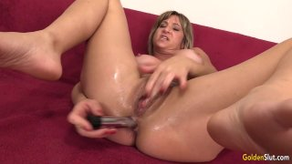 Mature Skyler Haven Shows Off Her Tempting Body and Orgasms with Sex Toys Thumbnail