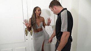 Black girl apprehended in her own home Thumbnail