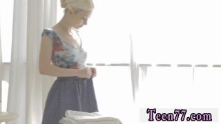 Girl teens guys Mirta gets a sensual massage Thumbnail